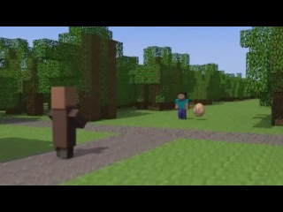 ���� � ���� ��������� - 4 �����  Egg in the world Minecraft - 4 series